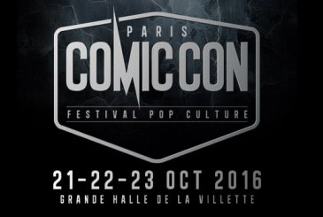 Comic Con Paris du 21 au 23 octobre