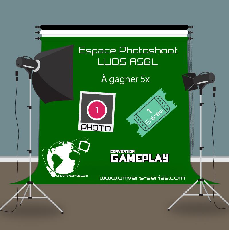 Affiche Photoshoot sur fond vert - Concours Gameplay 2017