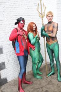 Aquaman - Spiderman