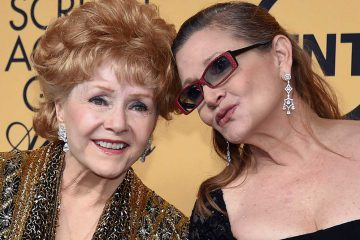 Debbie Reynolds et Carrie Fisher