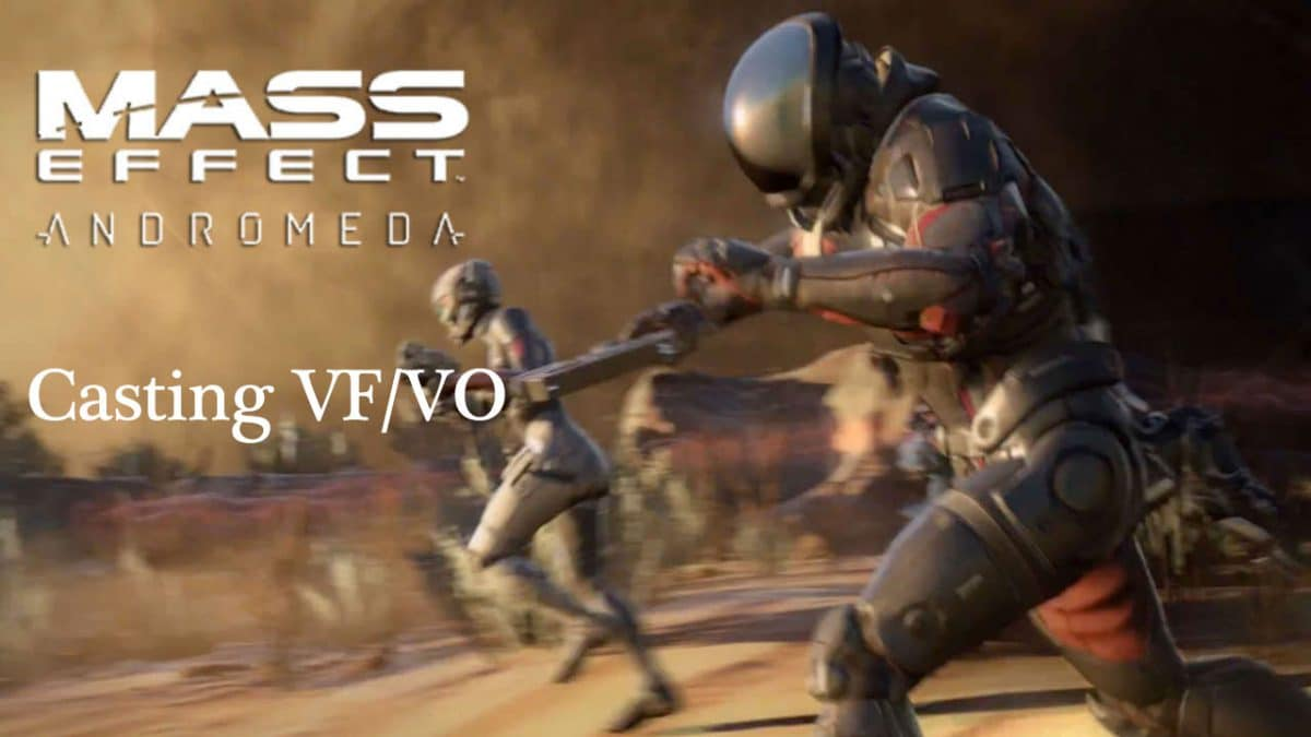 Mass Effect Andromeda Casting