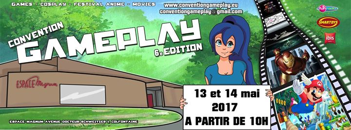 Convention Gameplay 2017